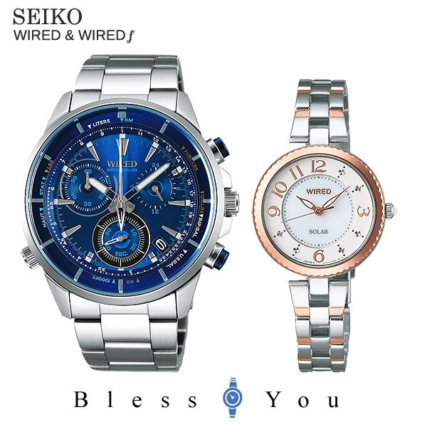 SEIKO WIRED WIREDf セイコー ワイアード & ワイアードエフ ペアウォッチ AGAW442-AGED087 46,0