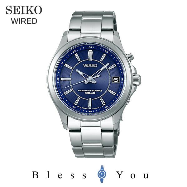ソーラー 電波時計 セイコー ワイアード メンズ 腕時計 AGAY010 30,0