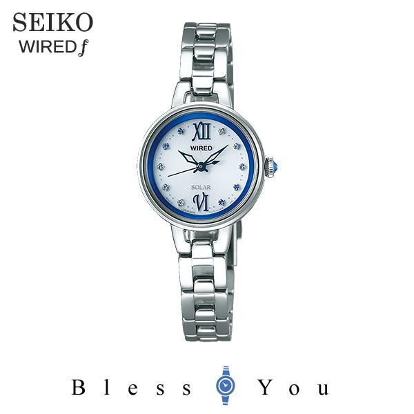 セイコー SEIKO ソーラー 腕時計 レディース ワイアードエフ WIRED f AGED092 22,0