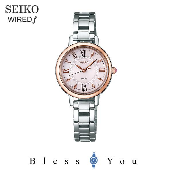 SEIKO WIRED f セイコー ソーラー 腕時計 レディース ワイアードエフ 2018年5月 AGED097 23,0