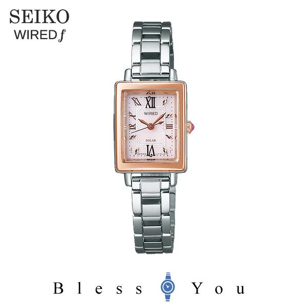 SEIKO WIRED f セイコー ソーラー 腕時計 レディース ワイアードエフ 2018年5月 AGED100 23,0