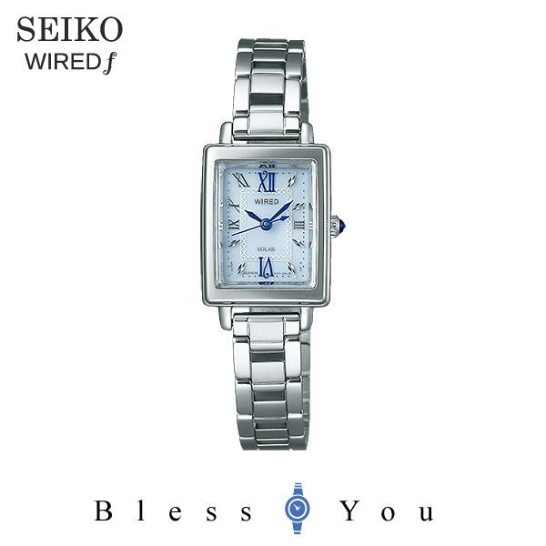 SEIKO WIRED f セイコー ソーラー 腕時計 レディース ワイアードエフ 2018年5月 AGED101 21,0