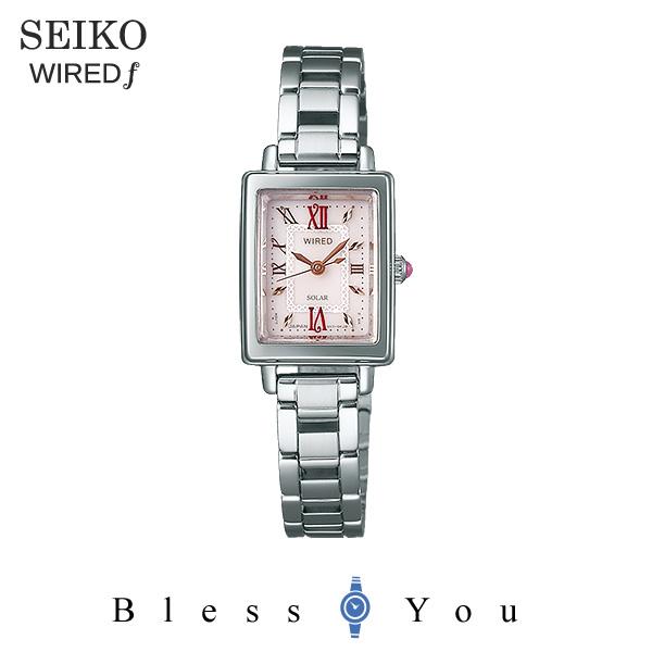 SEIKO WIRED f セイコー ソーラー 腕時計 レディース ワイアードエフ 2018年5月 AGED102 21,0