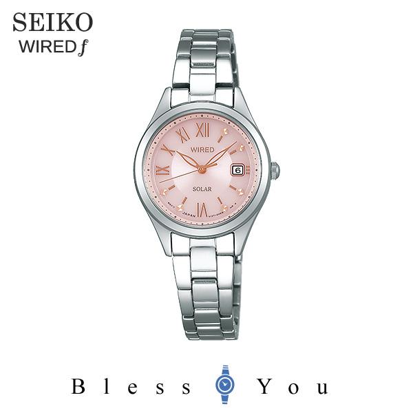 SEIKO WIRED f セイコー ソーラー 腕時計 レディース ワイアードエフ ペアモデル 2018年10月 AGED105 21,0