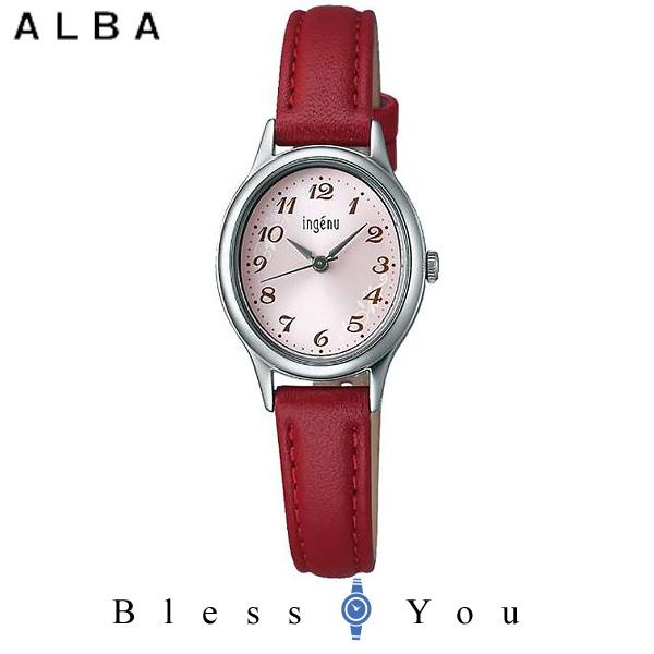 セイコー SEIKO ALBA ingenu アルバ 腕時計 レディース アンジェーヌ レザーバンド  AHJK420 7,5