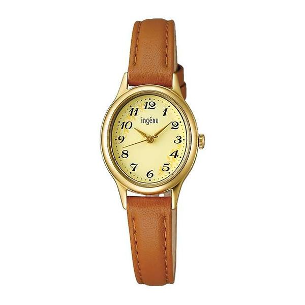 セイコー SEIKO ALBA ingenu アルバ 腕時計 レディース アンジェーヌ レザーバンド  AHJK421 7,5