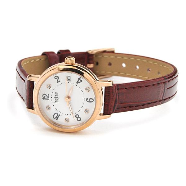 【還暦祝 ギフト 名入れ付】レディース 腕時計 セイコー アルバ アンジェーヌ SEIKO ALBA ingenu AHJK44660naire