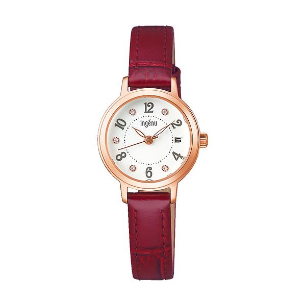 セイコー SEIKO ALBA ingenu アルバ 腕時計 レディース アンジェーヌ レザーバンド  AHJK446 9,0