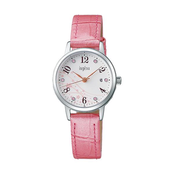 セイコー SEIKO ALBA ingenu アルバ 腕時計 レディース アンジェーヌ レザーバンド  AHJK714 10,0