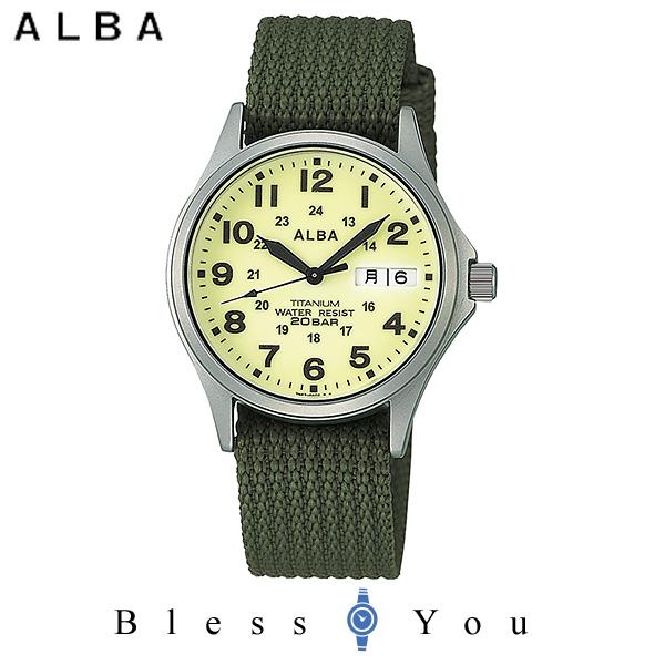 ALBA アルバ 腕時計 メンズ スポーツ フィールドギア APBT209 9,8