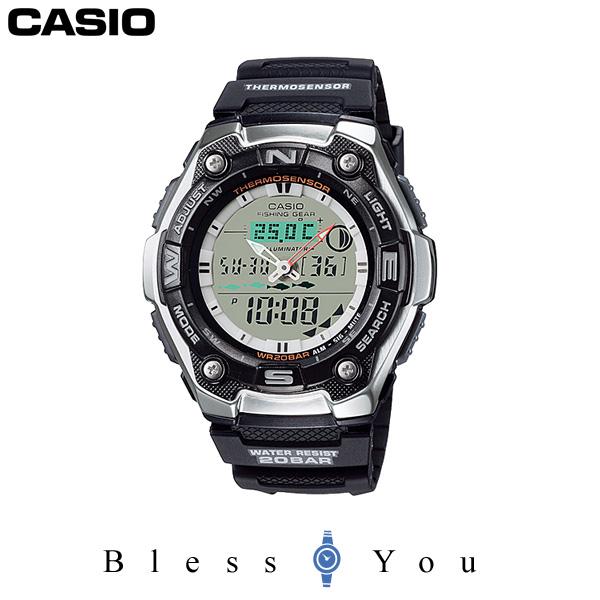 釣りに適した時間がわかる カシオ フィッシングタイムグラフ スポーツギア CASIO AQW-101J-1AJF 7,0
