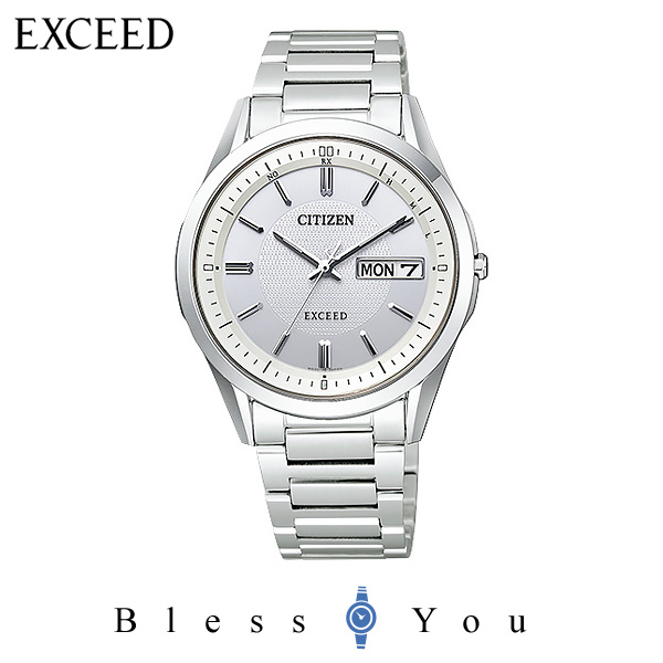 CITIZEN EXCEED シチズン エクシード AT6030-60A 新品お取り寄せ品 日本国内送料無料 ギフト  エコドライブ電波 110,0