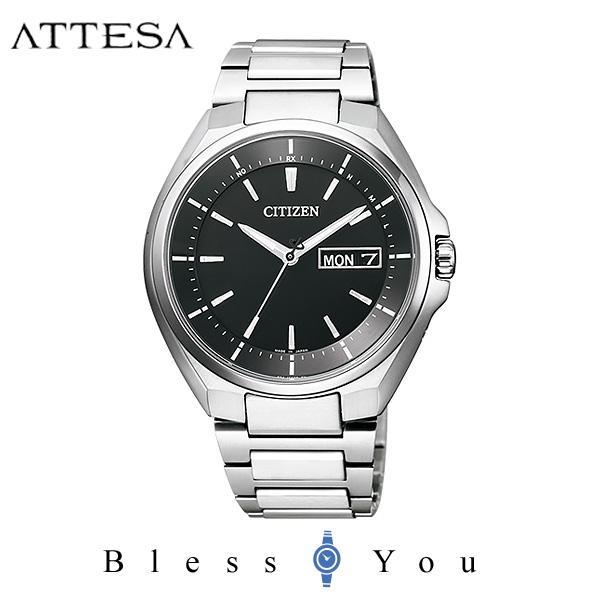 シチズン アテッサ メンズ 腕時計 AT6050-54E エコドライブ電波 新品お取り寄せ 70,0