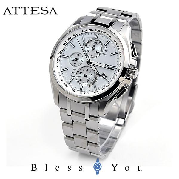シチズン アテッサ メンズ 腕時計 AT8040-57A エコドライブ電波 新品お取り寄せ 100,0