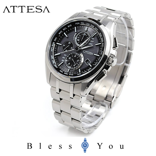 シチズン アテッサ メンズ 腕時計 AT8040-57E エコドライブ電波 新品お取り寄せ 100,0