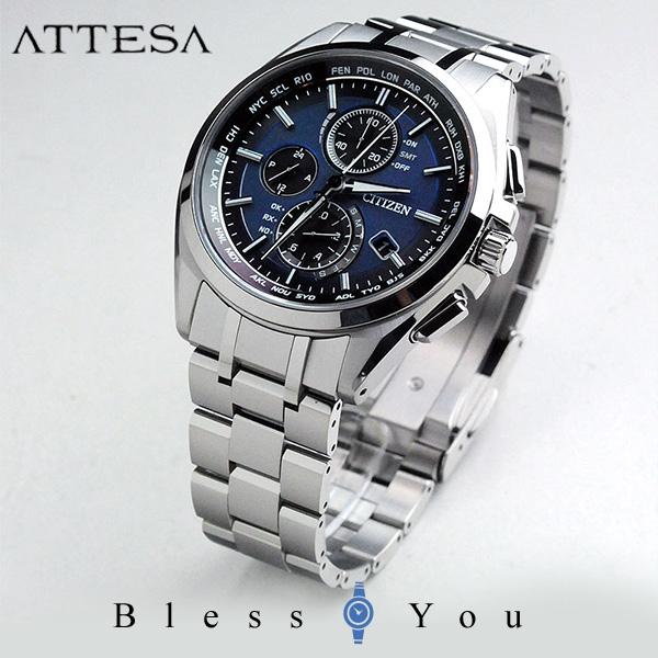 シチズン アテッサ メンズ 腕時計 AT8040-57L エコドライブ電波 新品お取り寄せ 100,0