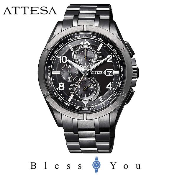 CITIZEN ATTESA シチズン 電波ソーラー メンズ 腕時計 アテッサ AT8166-59E 130,0