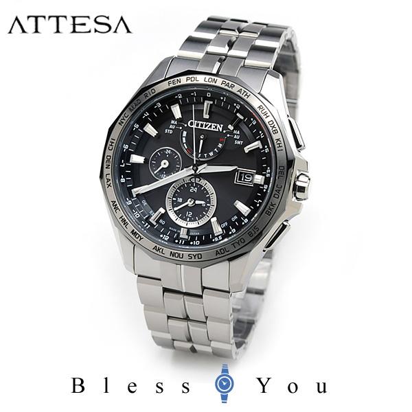 シチズン アテッサ メンズ 腕時計 AT9096-57E エコドライブ電波 新品お取り寄せ 140,0