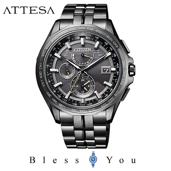 CITIZEN ATTESA シチズン 電波ソーラー メンズ 腕時計 アテッサ AT9097-54E 160,0