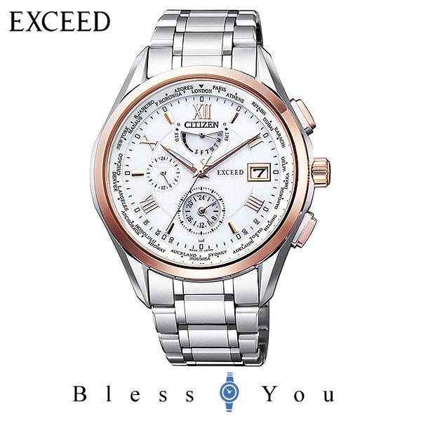 CITIZEN EXCEED シチズン 電波ソーラー メンズ 腕時計 エクシード AT9114-57A 170,0