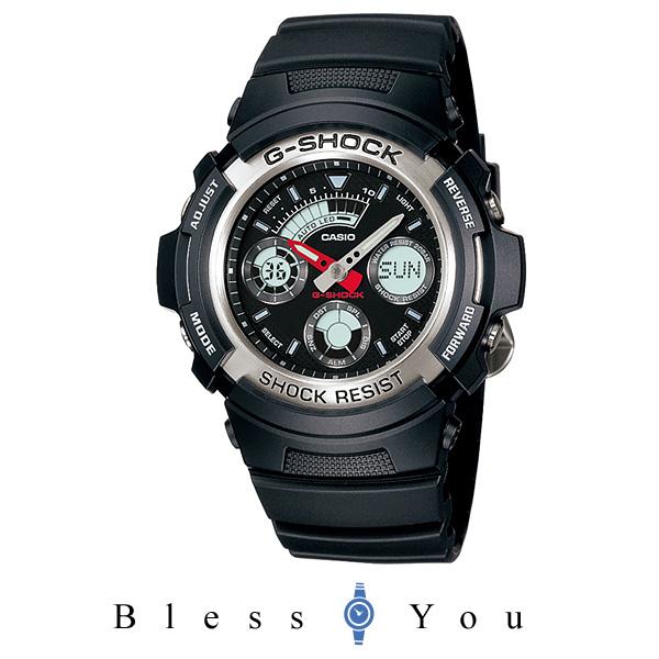 CASIO 腕時計 G-SHOCK ジーショック STANDARD アナログ/デジタルコンビネーションモデル AW-590-1AJF
