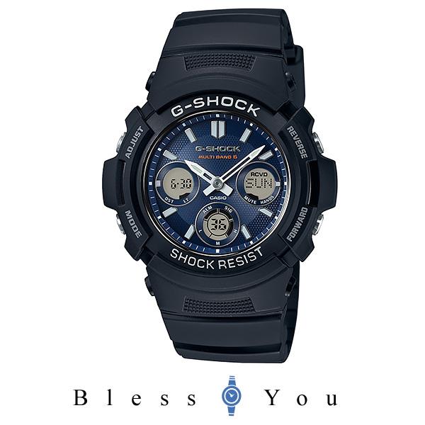 カシオ Gショック メンズ 腕時計 タフソーラー電波時計 AWG-M100SB-2AJF 25,0 新品お取り寄せ