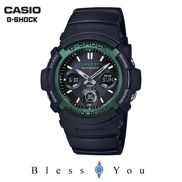 CASIO G-SHOCK カシオ ソーラー電波 腕時計 メンズ Gショック 2019年2月新作 ファイアーパッケージ '19 AWG-M100SF-1A3JR 25,0