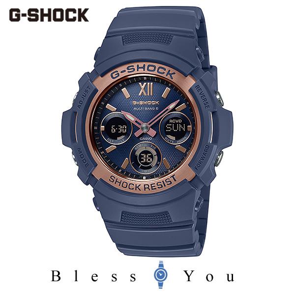 CASIO G-SHOCK カシオ ソーラー電波 腕時計 メンズ Gショック 2019年11月新作 プレシャスハート AWG-M100SNR-2AJF 25,0