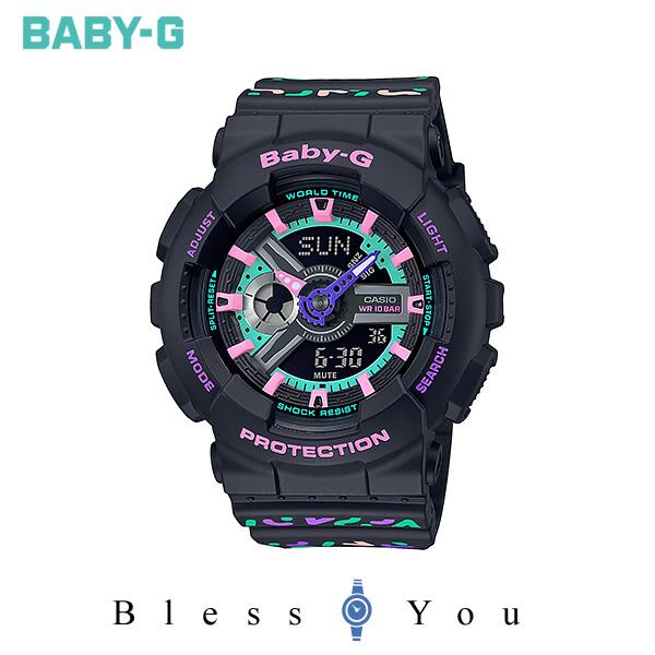 CASIO BABY-G カシオ 腕時計 レディース ベビーG 2019年11月新作 ジオメトリック BA-110TH-1AJF 15,5