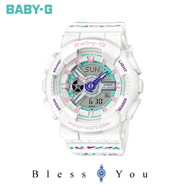 CASIO BABY-G カシオ 腕時計 レディース ベビーG 2019年11月新作 ジオメトリック BA-110TH-7AJF 15,5