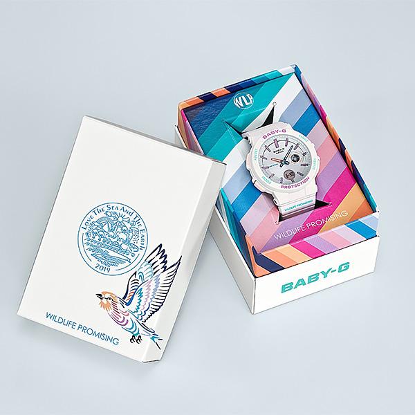 CASIO BABY-G カシオ 腕時計 レディース ベビーG 2019年2月新作 WILDLIFE PROMISING BA-255WLP-7AJR 15,0