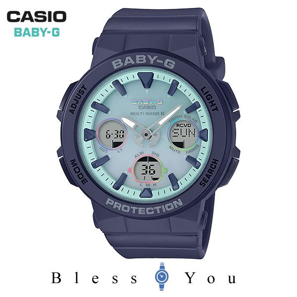 CASIO BABY-G カシオ ソーラー電波 腕時計 レディース ベビーG 2019年7月新作 BGA-2500-2A2JF 21,0