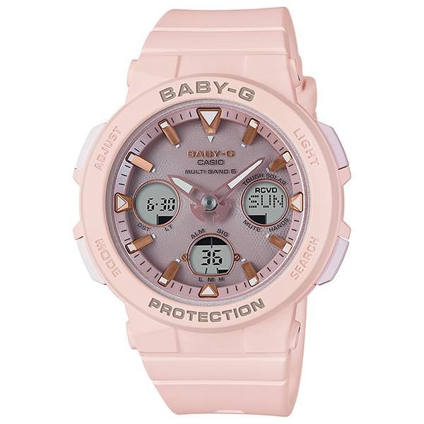 CASIO BABY-G カシオ 電波ソーラー 腕時計 レディース ベビーG 2018年5月新作 BGA-2500-4AJF 21,0