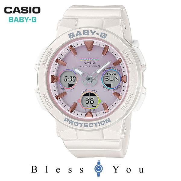 CASIO BABY-G カシオ ソーラー電波 腕時計 レディース ベビーG 2019年7月新作 BGA-2500-7A2JF 21,0