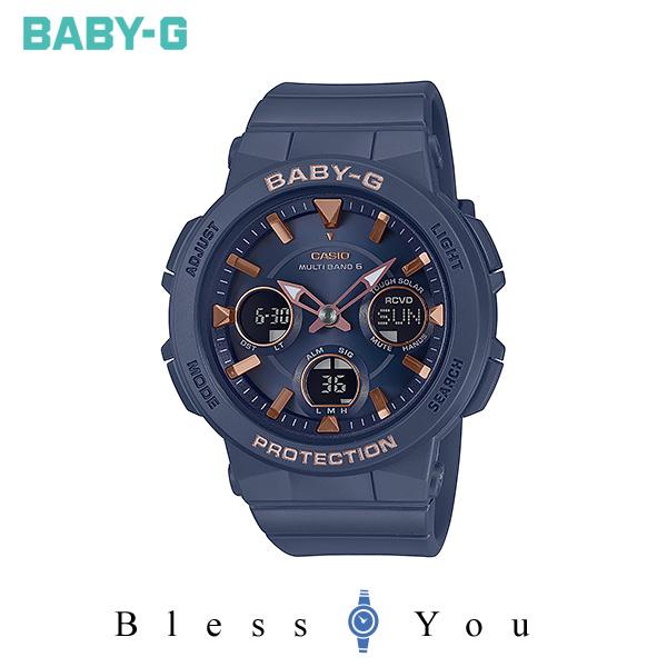 CASIO BABY-G カシオ ソーラー電波 腕時計 レディース ベビーG 2019年11月新作 BGA-2510-2AJF 21,0