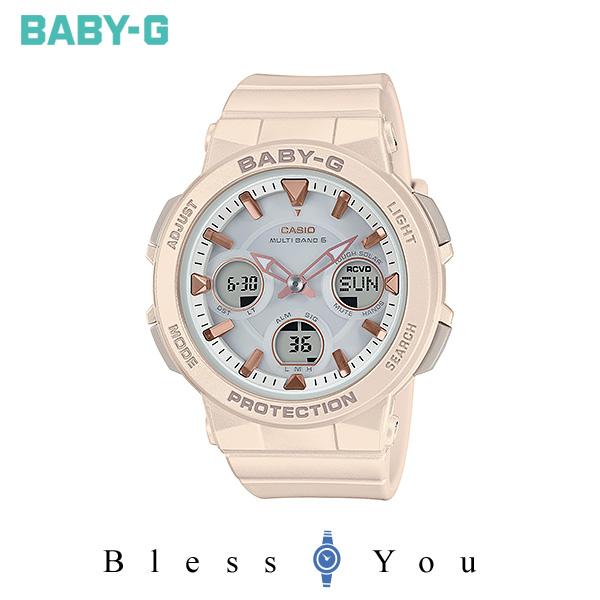 CASIO BABY-G カシオ ソーラー電波 腕時計 レディース ベビーG 2019年11月新作 BGA-2510-4AJF 21,0