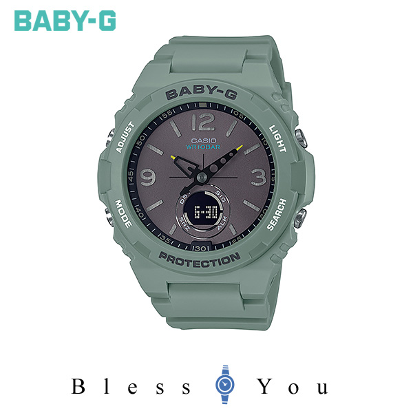 CASIO BABY-G カシオ 腕時計 レディース  ベビーG 2019年10月新作 ヴィンテージ アウトドア カラー BGA-260-3AJF 13,0