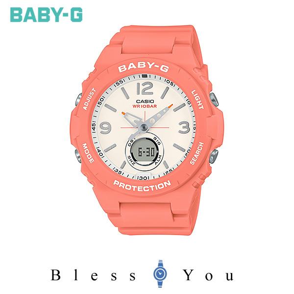 CASIO BABY-G カシオ 腕時計 レディース  ベビーG 2019年10月新作 ヴィンテージ アウトドア カラー BGA-260-4AJF 13,0