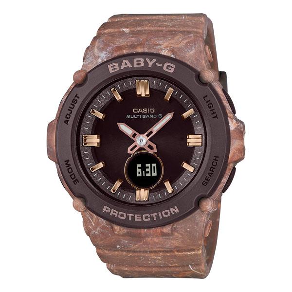 CASIO BABY-G カシオ 腕時計 レディース ベビーG 電波ソーラー 2021年6月 BGA-2700CR-5AJF 22,5