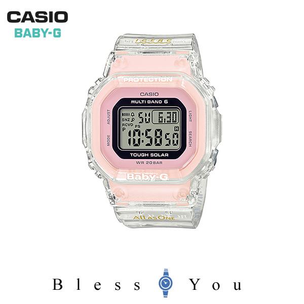 CASIO BABY-G カシオ ソーラー電波 腕時計 レディース  ベビーG 2019年6月新作 BGD-5001K-7JR 21,0