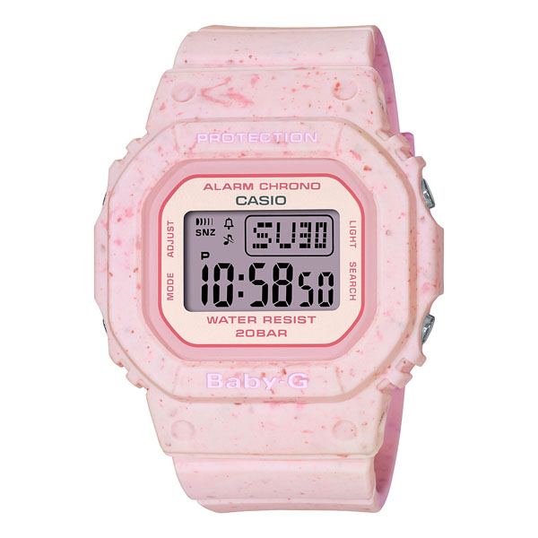 CASIO BABY-G カシオ 腕時計 レディース ベビーG 2021年6月 BGD-560CR-4JF 10,5