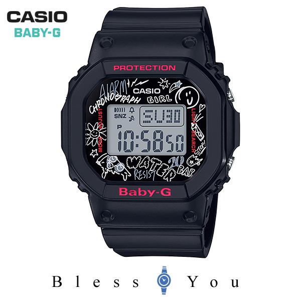 CASIO BABY-G カシオ 腕時計 レディース ベビーG 2018年11月新作 BGD-560SK-1JF 9.5,0