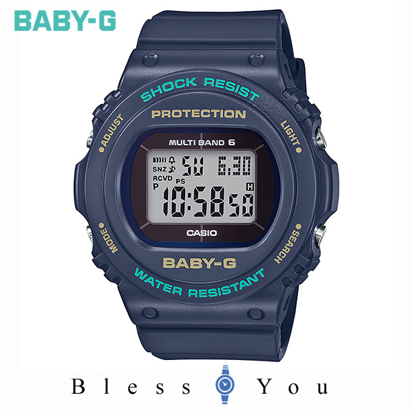 CASIO BABY-G カシオ ソーラー電波 腕時計 レディース ベビーG 2019年10月新作 BGD-5700-2JF 18,0