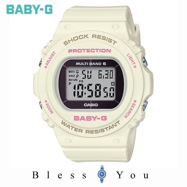 CASIO BABY-G カシオ ソーラー電波 腕時計 レディース ベビーG 2019年10月新作 BGD-5700-7JF 18,0