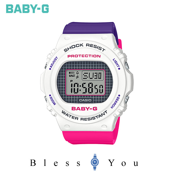 CASIO BABY-G カシオ 腕時計 レディース ベビーG 2019年11月新作 Throwback 1990s BGD-570THB-7JF 10,5