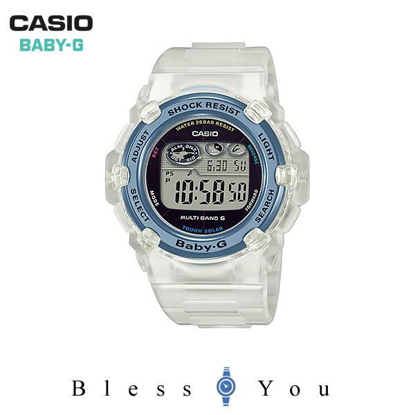 CASIO BABY-G カシオ ソーラー電波 腕時計 レディース ベビーG 2018年6月新作 BGR-3008K-7JR 22,0