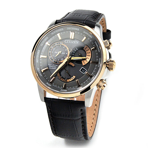 シチズン エコドライブ パーペチュアルカレンダー 海外モデル 腕時計 メンズ CITIZEN BL8149-18H