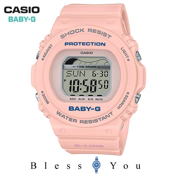 CASIO BABY-G カシオ 腕時計 レディース ベビーG 2019年5月新作 G-LIDE サーフキャンプ BLX-570-4JF 9,5