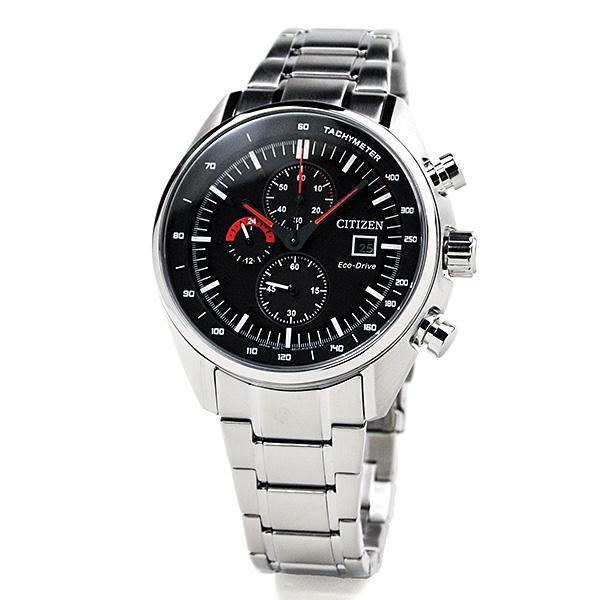シチズン ソーラー エコドライブ クロノグラフ 海外モデル 腕時計 メンズ CITIZEN CA0590-58E