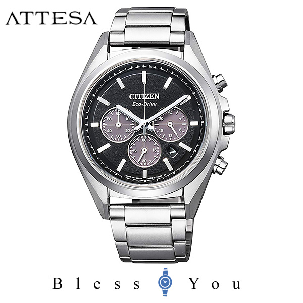 CITIZEN ATTESA シチズン ソーラー メンズ 腕時計 アテッサ CA4390-55E 50,0